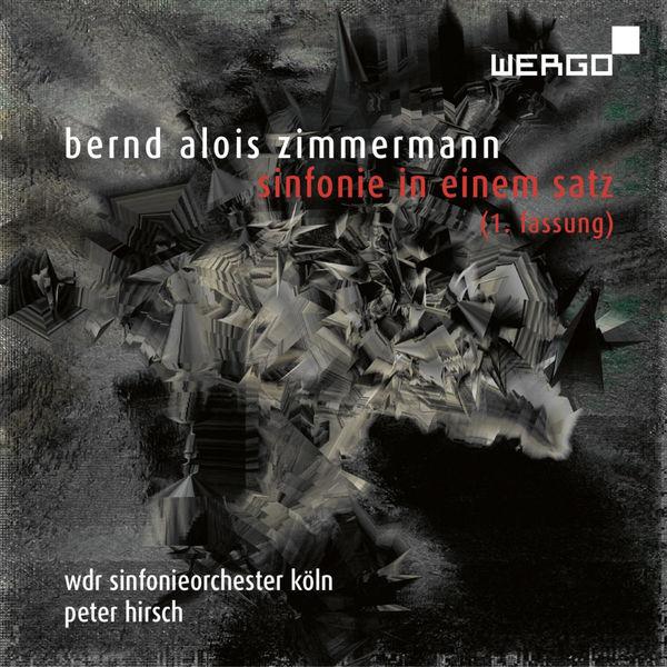 WDR Sinfonieorchester Köln - Zimmermann: Sinfonie in einem Satz (1. Fassung)