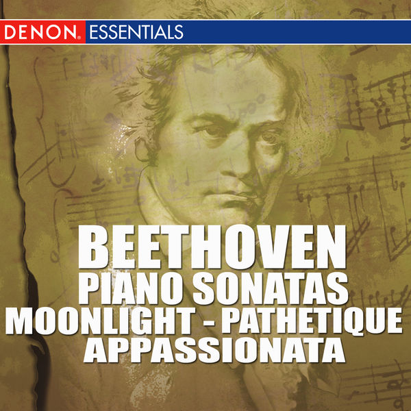 Ludwig van Beethoven - Beethoven - Piano Sonatas - Moonlight -  Pathetique - Appassionata
