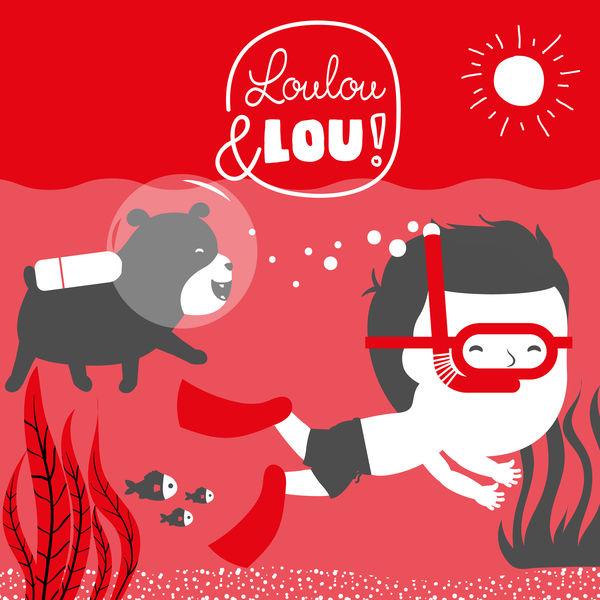 Barnvisor Loulou & Lou - Huvud Axlar Knä Och Tå