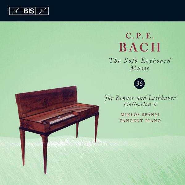 Miklos Spanyi - C.P.E. Bach: The Solo Keyboard Music, Vol. 36