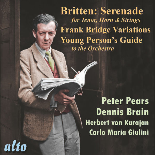 Various Artists - Britten: Serenade, Frank Bridge Variations, Young Presin's Guide
