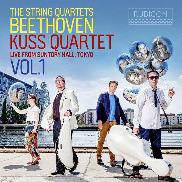 Kuss Quartet - Beethoven: The String Quartets, Live from Suntory Hall, Tokyo, Vol. 1