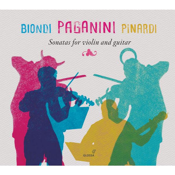 Fabio Biondi - Paganini: Sonatas for Violin & Guitar