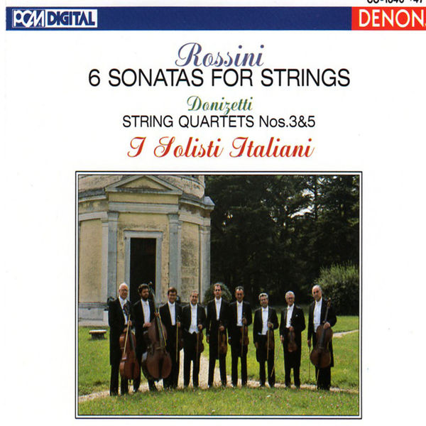 Gaetano Donizetti - Rossini & Donizetti: Sonatas and String Quartets
