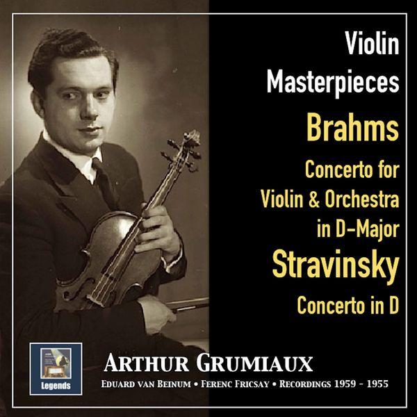 Arthur Grumiaux - Violin Masterpieces