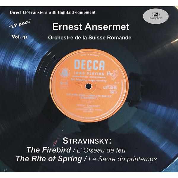 Orchestre De La Suisse Romande|LP Pure, Vol. 41: Ansermet Conducts Stravinsky (Historical Recordings)