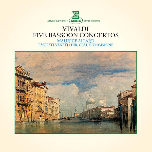 Maurice Allard - Vivaldi: 5 Bassoon Concertos