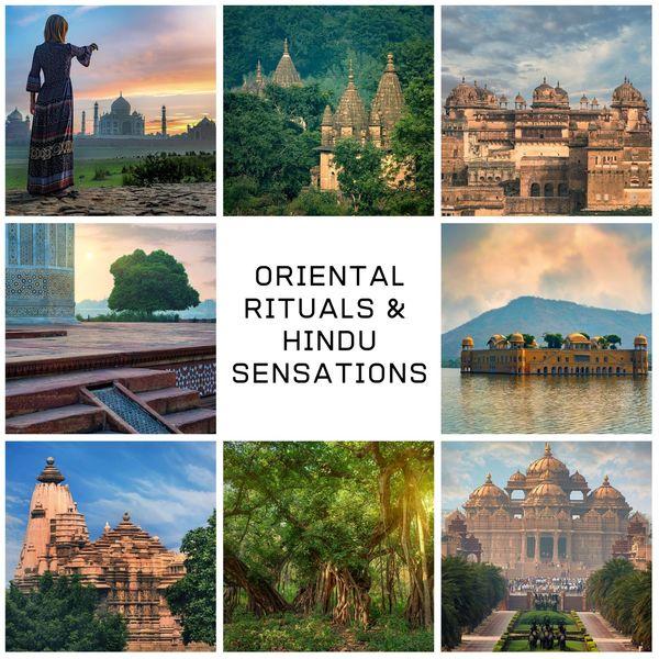 Oriental Music Zone - Oriental Rituals & Hindu Sensations: Santur, Tabla, Bansuri, Sitar