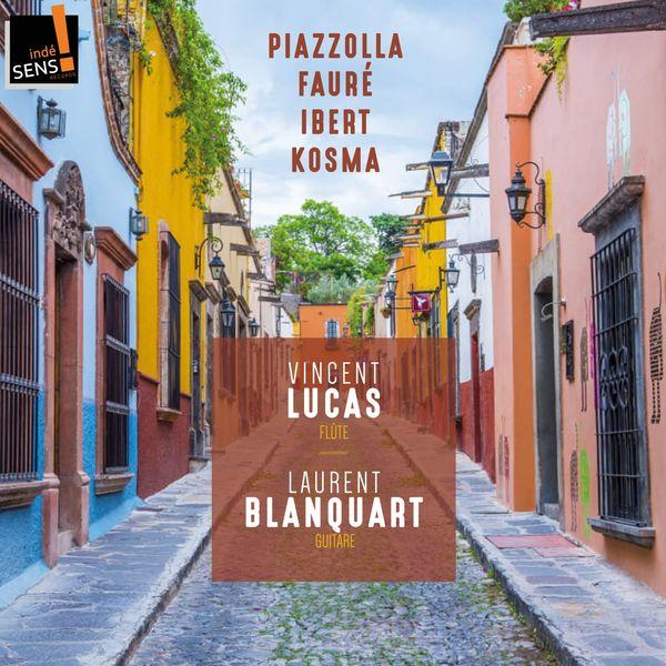 Vincent Lucas, Laurent Blanquart - Vincent Lucas et Laurent Blanquart (Arr. for Flute and Guitar)