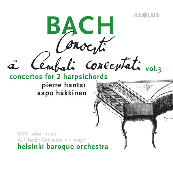 Pierre Hantaï - Bach : Harpsichord Concertos Vol. 3