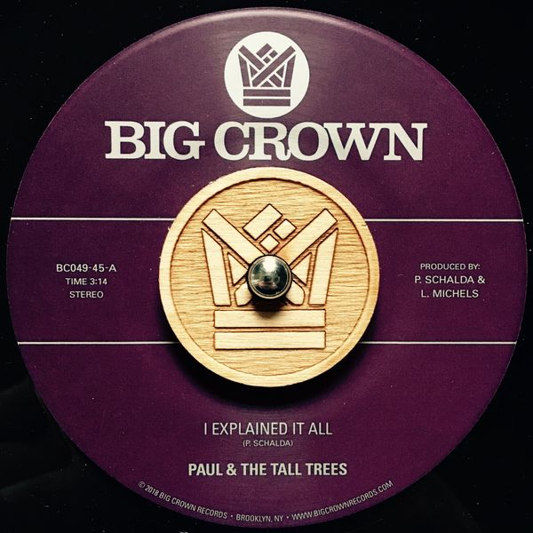 Paul & The Tall Trees - I Explained It All