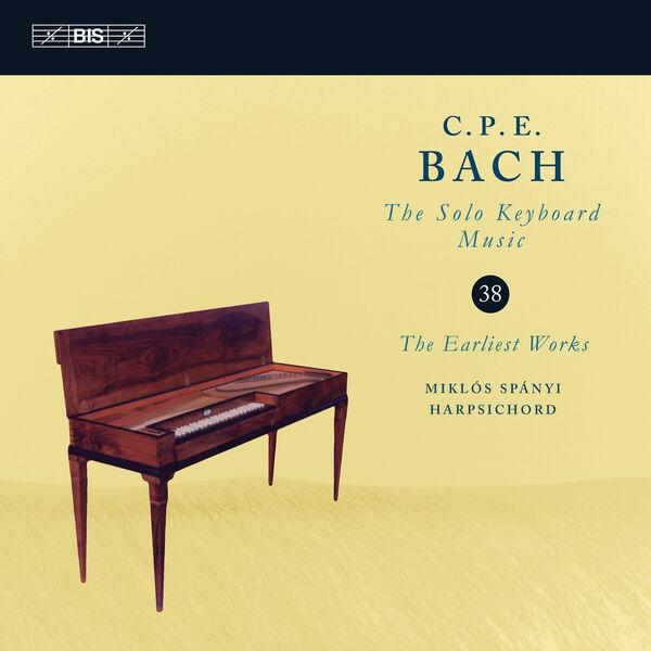 Miklos Spanyi - C.P.E. Bach: Solo Keyboard Music, Vol. 38