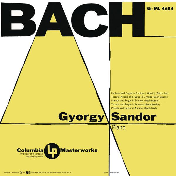 Gyorgy Sandor - Sándor Plays Bach (Remastered)