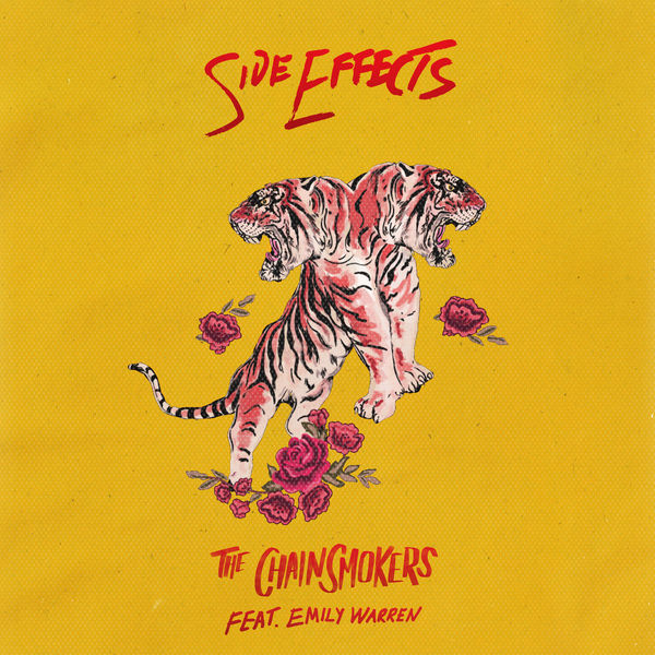 Image result for side effects chainsmokers album cover
