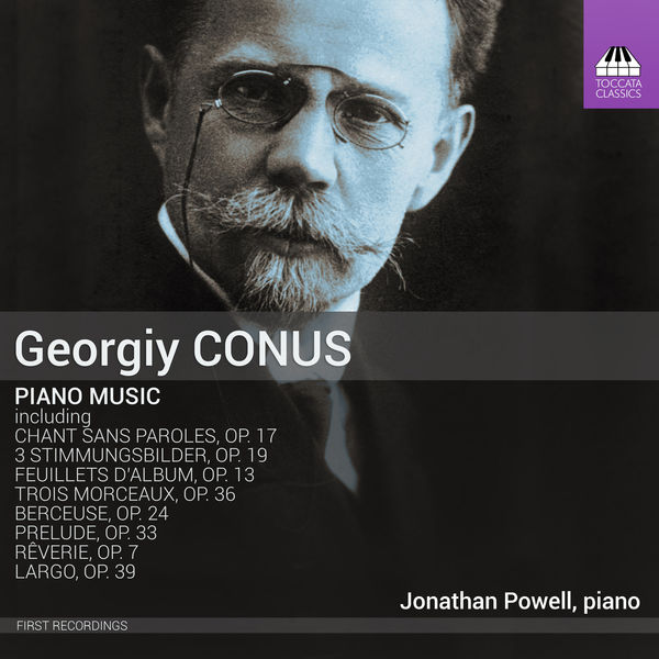 Jonathan Powell - Conus: Piano Music