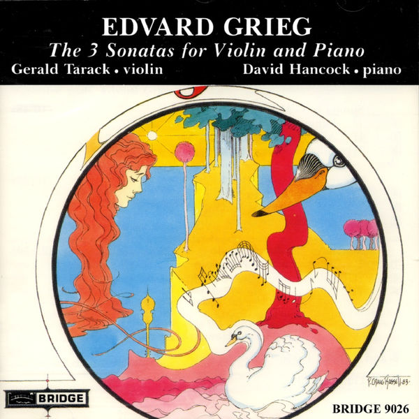 David Hancock - Grieg: The 3 Sonatas For Violin & Piano