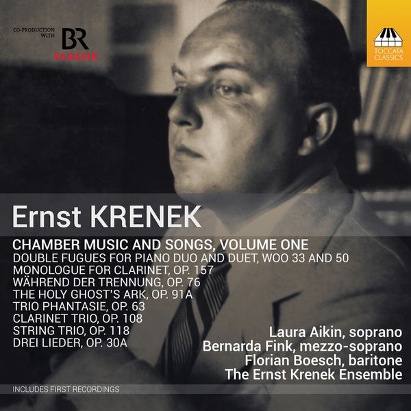 The Ernst Krenek Ensemble - Krenek : Chamber Music & Songs, Vol. 1