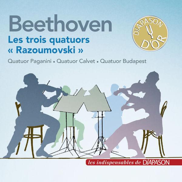 "Paganini Quartet - Beethoven: Les trois quatuors à cordes ""Razoumovski"""