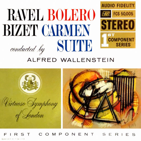 Virtuoso Symphony of London - Ravel & Bizet: Bolero / Carmen Suite