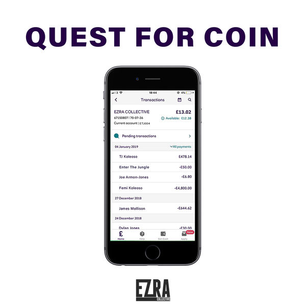 Ezra Collective Quest for Coin