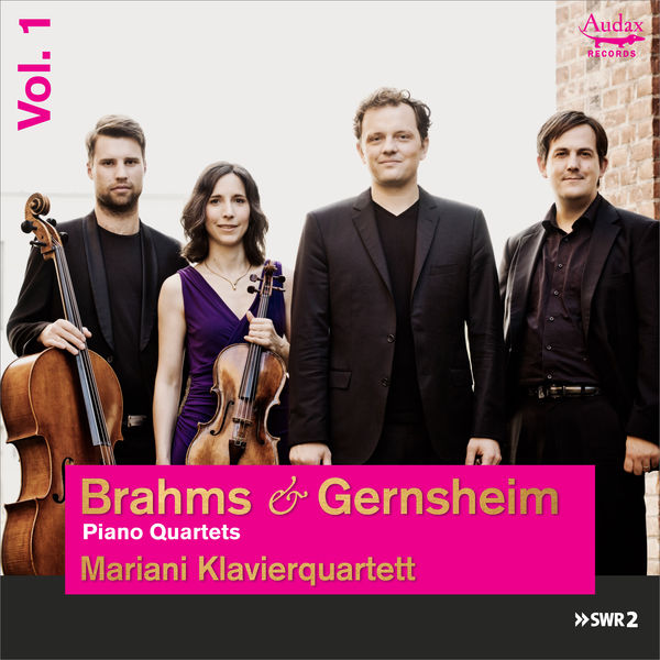 Mariani Klavierquartett - Brahms & Gernsheim: Piano Quartets
