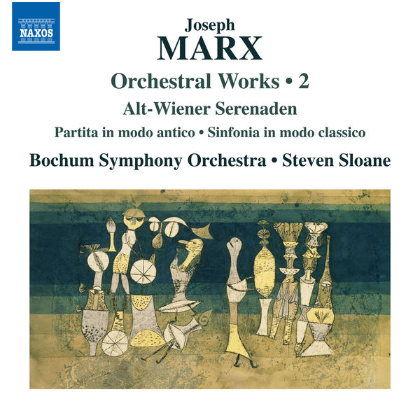 Bochum Symphony Orchestra - Marx: Orchestral Works, Vol. 2