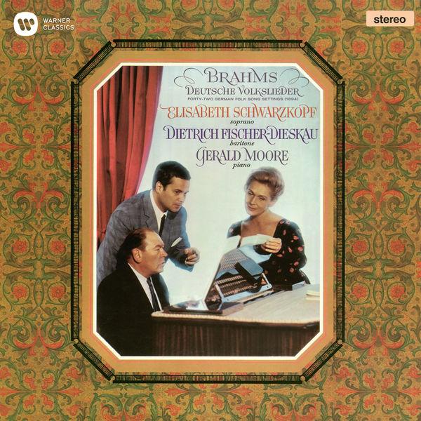 Elisabeth Schwarzkopf - Brahms: Deutsche Volkslieder, WoO 33