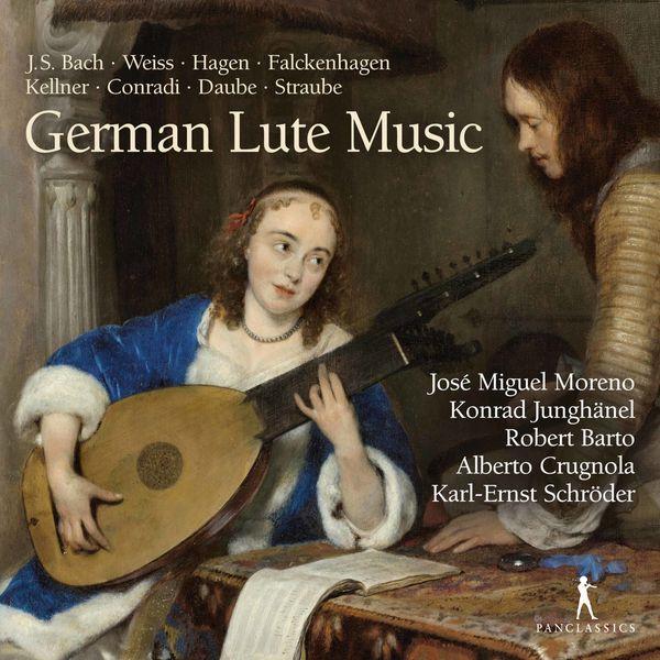 José Miguel Moreno - German Lute Music
