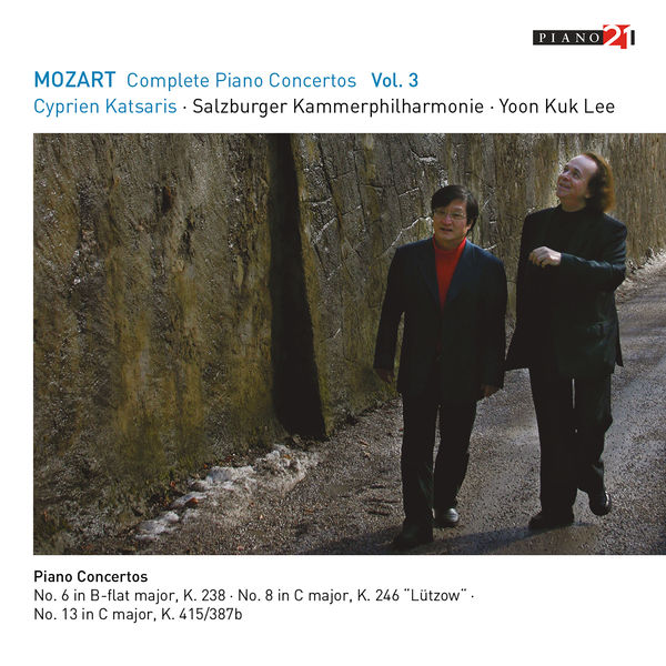 Cyprien Katsaris - Mozart: Complete Piano Concertos, Vol.3 (Live - K.238, 246, 415)