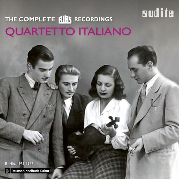 Quartetto Italiano - Quartetto Italiano: The complete RIAS Recordings (Berlin, 1951-1963)