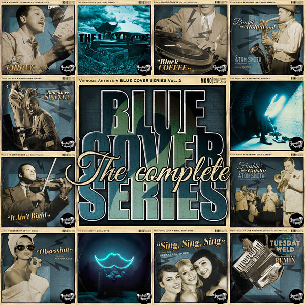 "Various Artists - The Complete ""Blue Cover"" Series Vol 2 - Electro Swing 2018 - 2019"