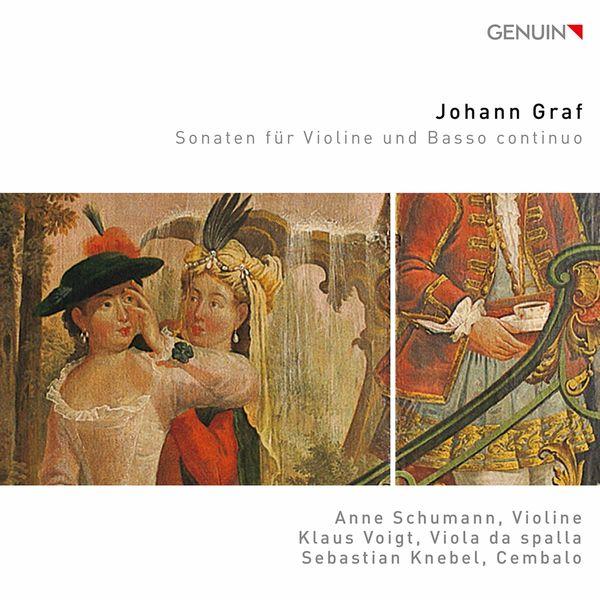 Anne Schumann - Graf: Violin Sonatas