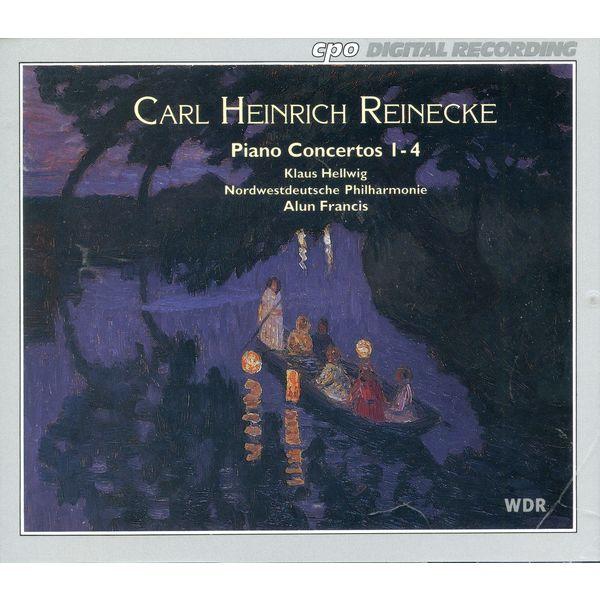 Klaus Hellwig - Reinecke: Piano Concertos Nos. 1-4