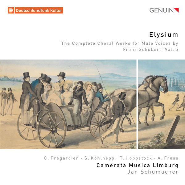 Camerata Musica Limburg - Elysium: The Complete Choral Works for Male Voices by Franz Schubert, Vol. 5