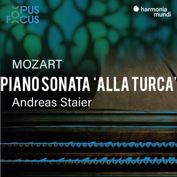 """Andreas Staier - Mozart: Piano Sonata, K. 331 """"Alla turca"""""""