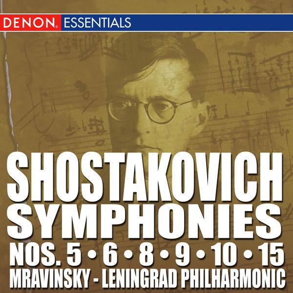 Dimitri Chostakovitch - Shostakovich: Symphonies Nos. 5 - 6 - 8 - 9 - 10 - 15