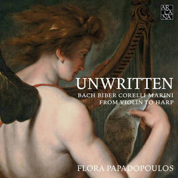 Flora Papadopoulos - Unwritten. From Violin to Harp