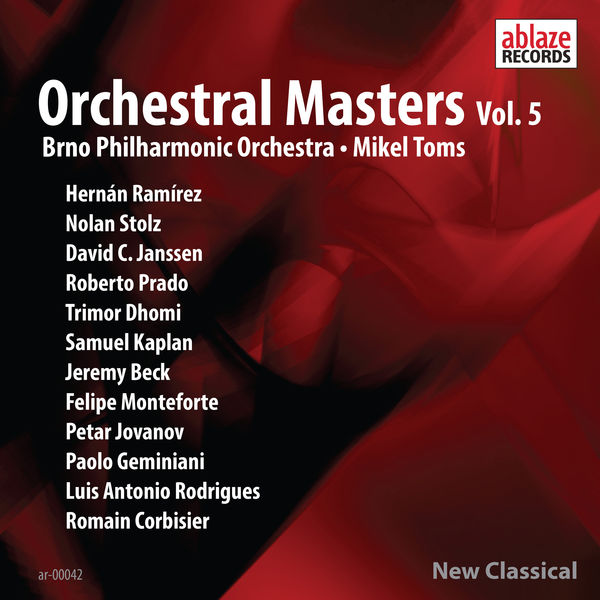 Brno Philharmonic Orchestra - Orchestral Masters, Vol. 5