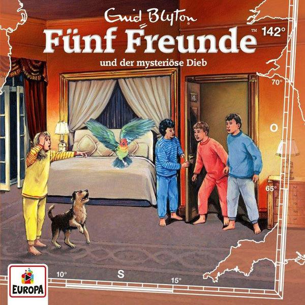 Fünf Freunde - 142/und der mysteriöse Dieb