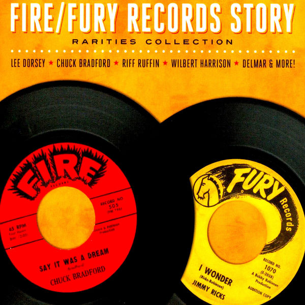 Various Artists - The Fire/Fury Records Story - Rarities Collection