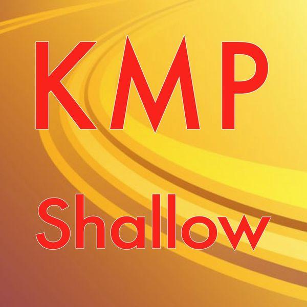 KMP|Shallow (Originally Performed by Lady Gaga & Bradley Cooper) [Karaoke Instrumental]