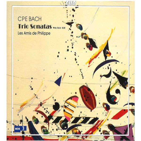 Les Amis de Philippe|Bach: Trio Sonatas, Wq. 144-151