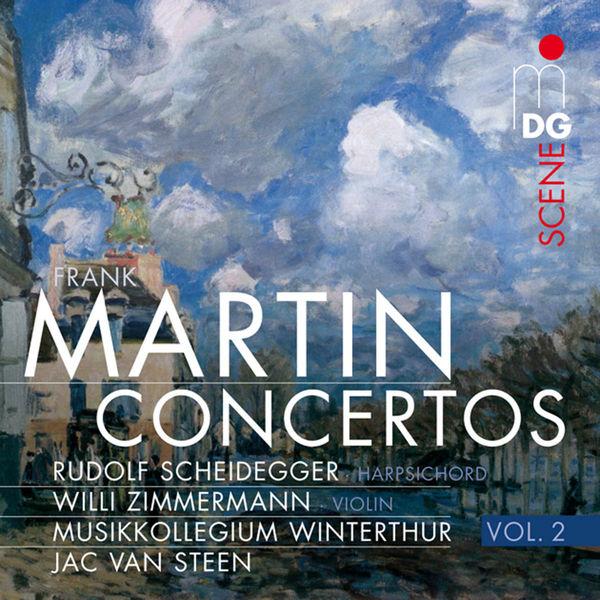 Rudolf Scheidegger - Martin: Concertos, Vol. 2
