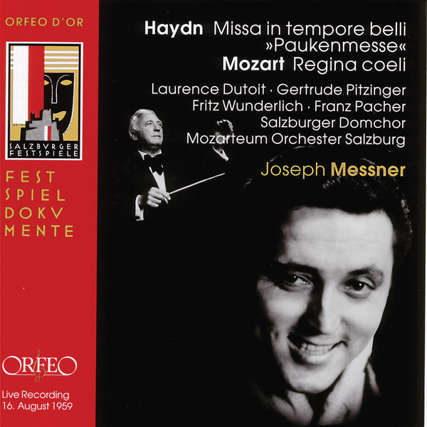 "Laurence Dutoit - Haydn: Mass in C Major, Hob. XXII:9 ""Missa in tempore belli"" - Mozart: Regina coeli, K. 276 (Live)"