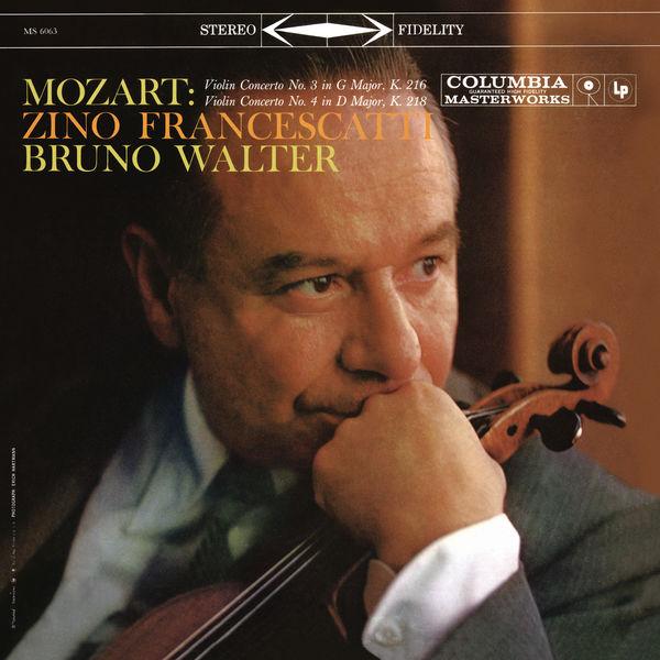 Bruno Walter - Mozart: Violin Concertos Nos. 3 & 4 (Remastered)