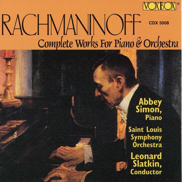 Abbey Simon - Rachmaninoff: Piano Concertos Nos. 1-4 & Rhapsody on a Theme of Paganini