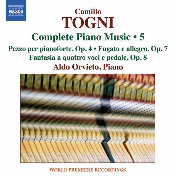 Aldo Orvieto - Togni: Complete Piano Music, Vol. 5