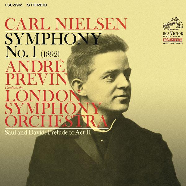 André Previn - Nielsen: Symphony No. 1 in G Minor, Op. 7