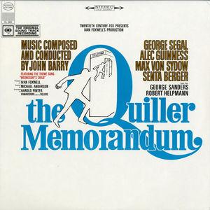 The Quiller Memorandum Original Sound Track Recording
