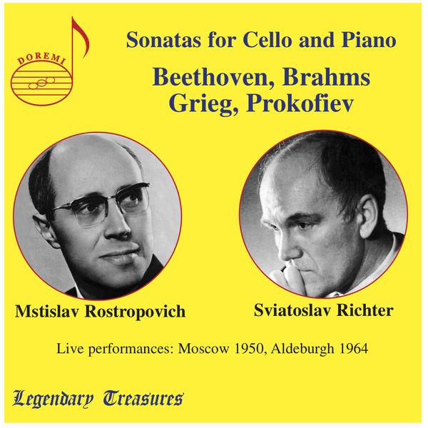 Mstislav Rostropovich - Rostropovich & Richter in Concert: Live in Moscow & Aldeburgh